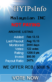 hyipsinfo.com - hyip malaysian inc